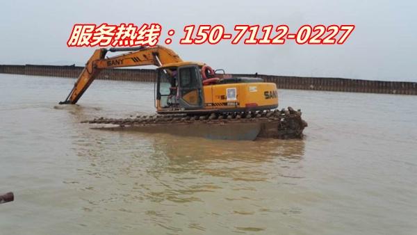 镇江湿地挖机出租公司