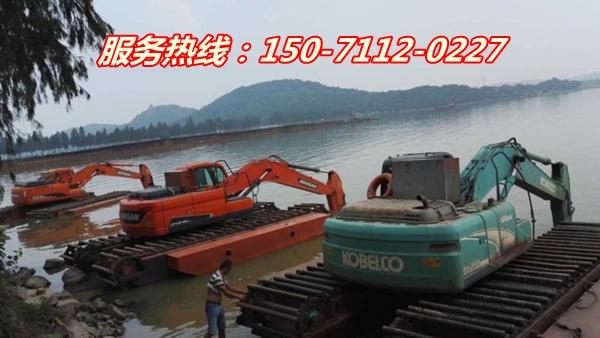 大庆水陆挖机租赁价格