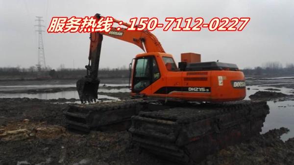 北京水陆挖机租赁价格