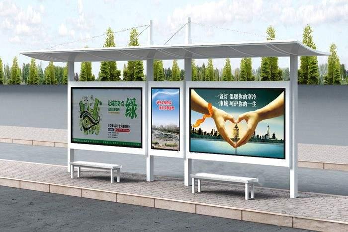 蚌埠公交站台定制厂家