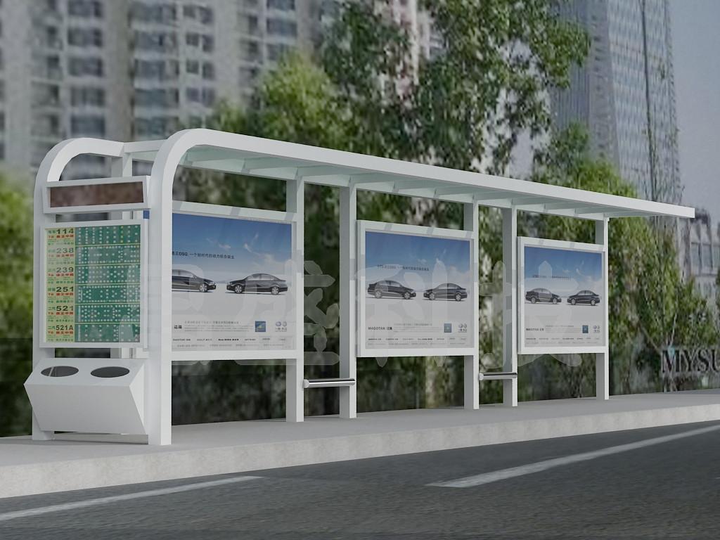 延庆公交车候车亭详细地址