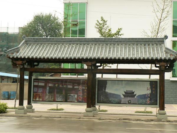 延庆公交站台生产厂家