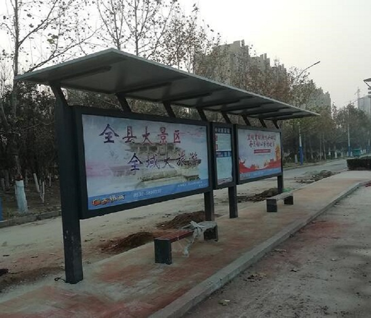 候车亭公交车站台制作企业