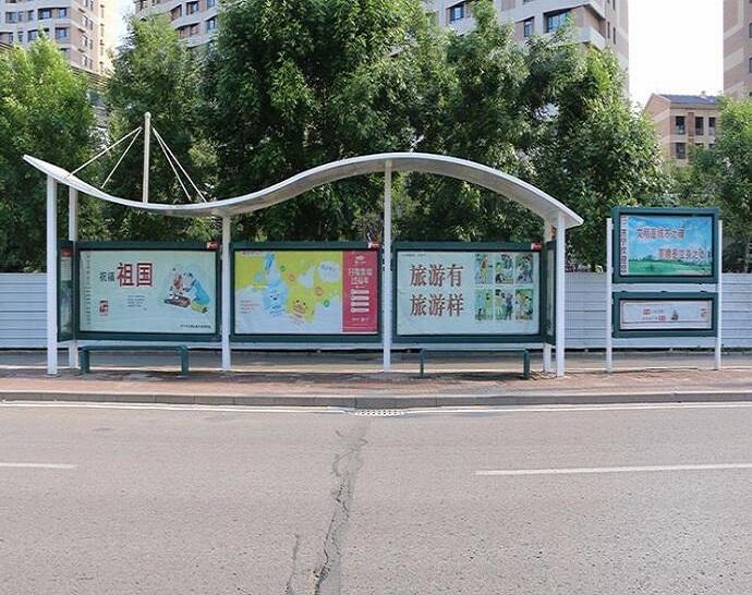 公交站台专业城市户外设施厂家实力打造