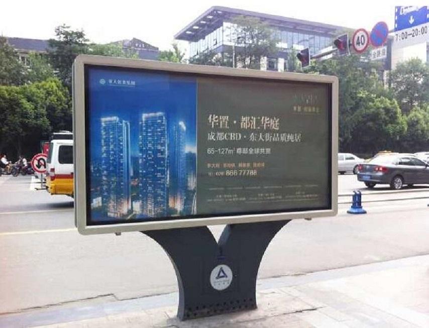 杭州候車亭滾動燈箱小區燈箱生產