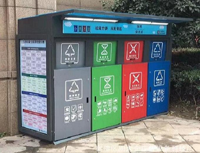 智能广告垃圾箱产品简介