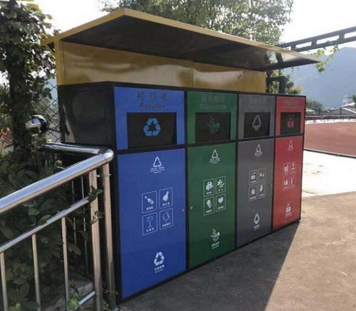 社区智能分类垃圾回收房诚信生产