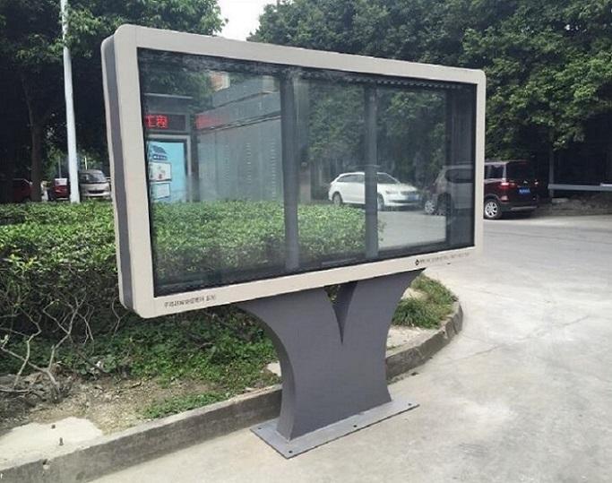 北京社區立式滾動燈箱批發價格是多少
