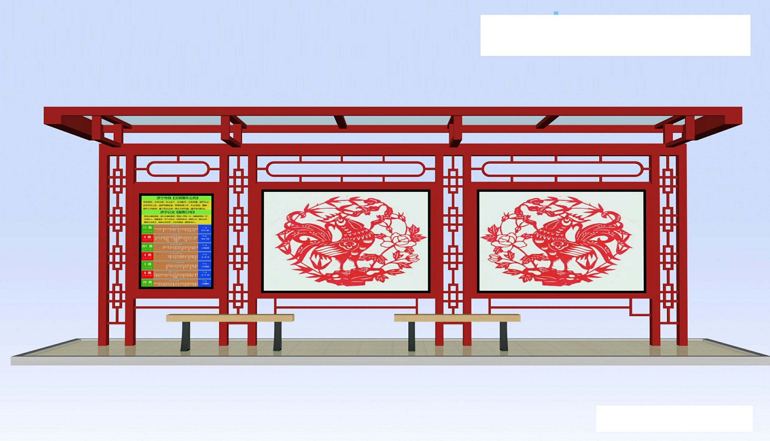 北京候车亭灯箱生产厂家今日价格