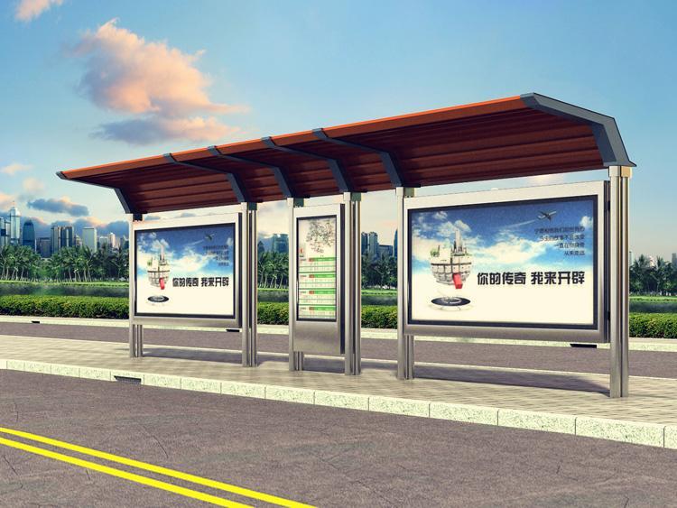 2018新款公交候车亭生产基地