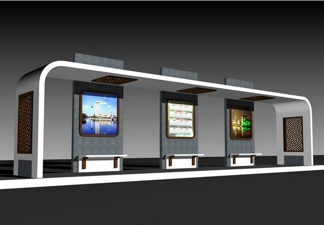 公交候车亭规格