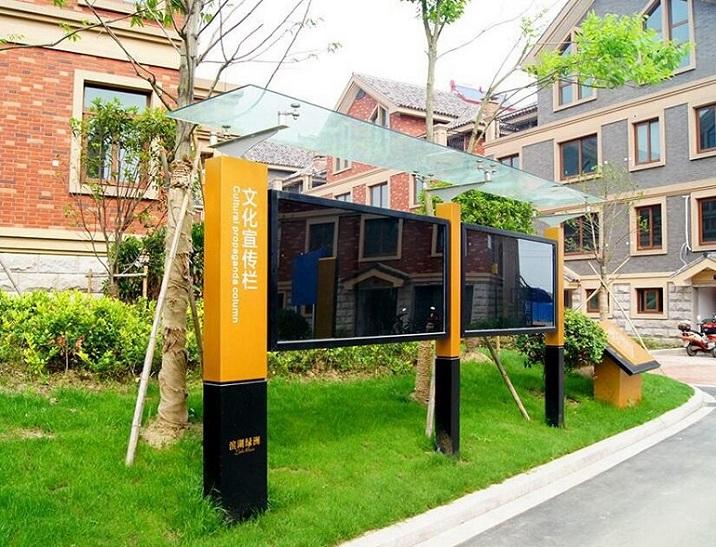 墙体壁挂滚动灯箱太阳能灯箱特价供应