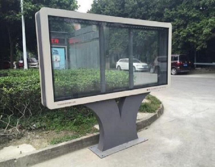 壁挂式滚动灯箱宣传栏新款研发