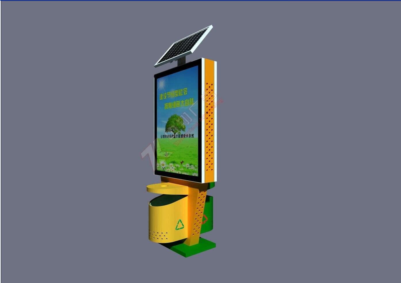 广告垃圾箱厂家个性化设计