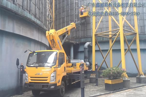 南汇广州鑫越桥检车出租400-158-3002最新报价