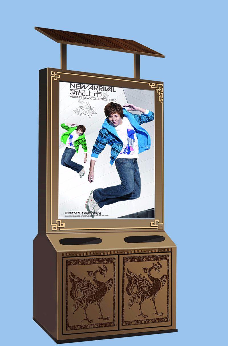北京广告垃圾箱工厂直销