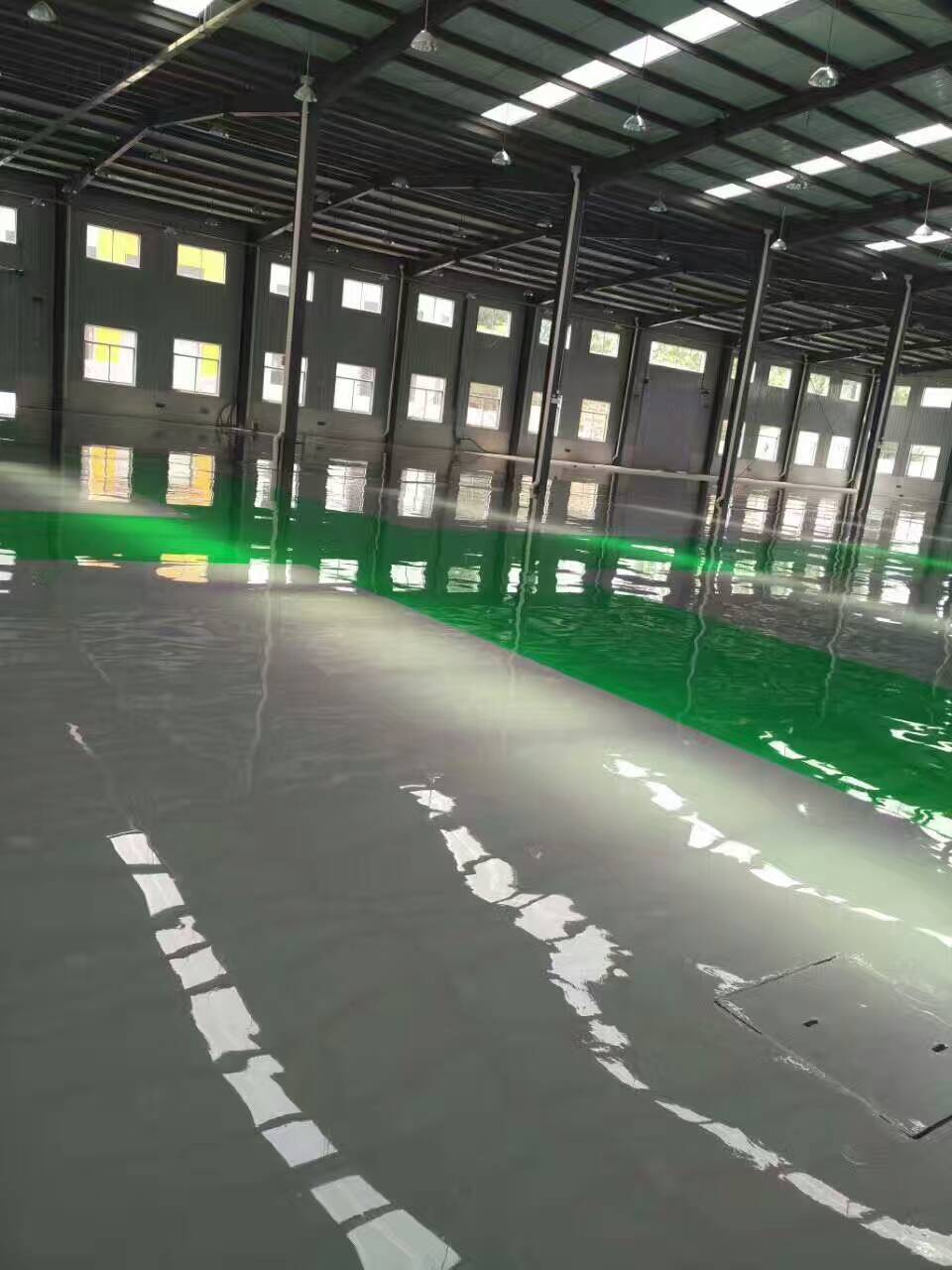 延庆水性环保地坪漆涂刷施工最低价