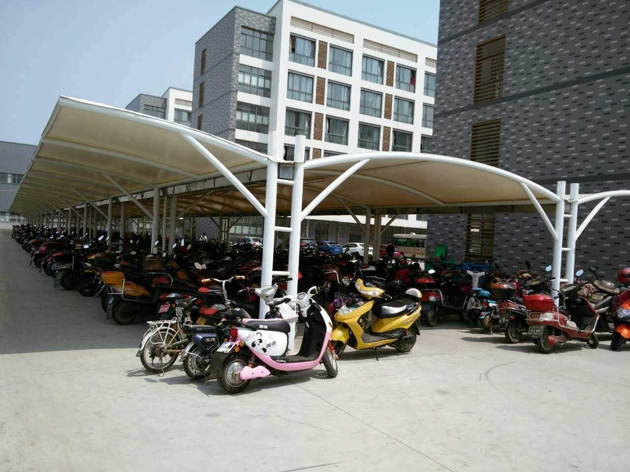 卢湾学校自行车棚生产厂家