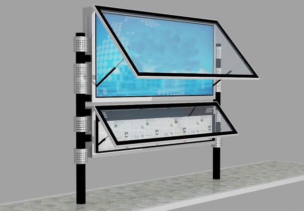 门头沟宣传栏灯箱设计样式