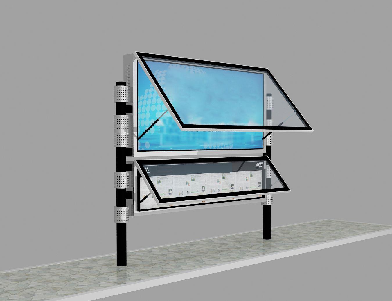 街道阅报栏灯箱生产厂家