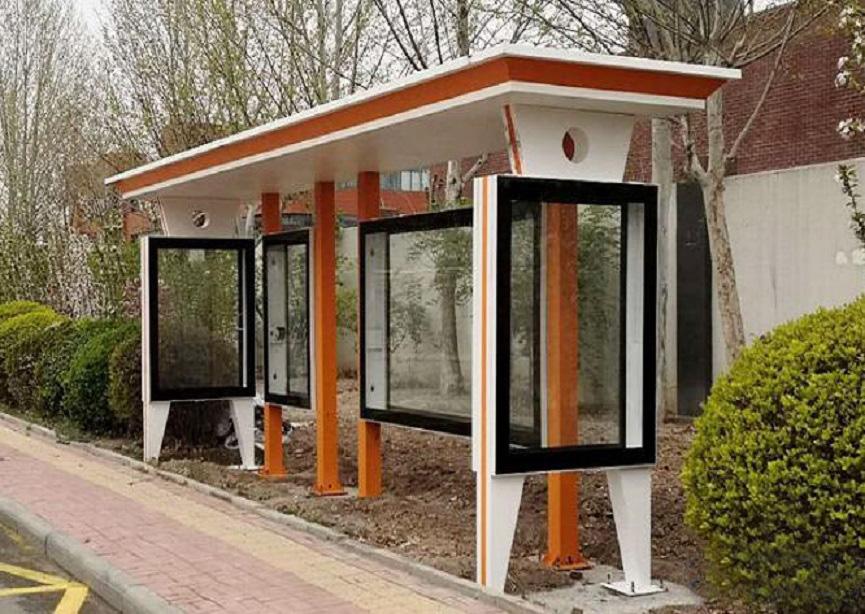 太阳能环保候车亭创意站台直销