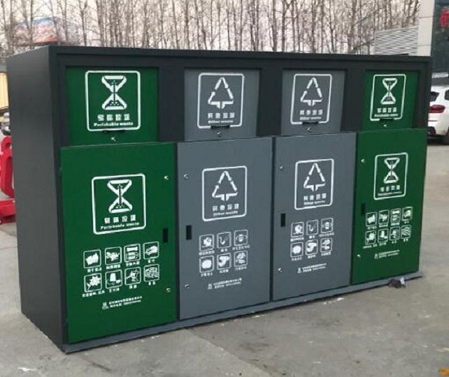 北京社区智能多功能分类垃圾箱优惠定制