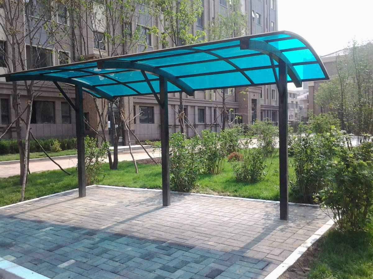 朝阳户外膜结构自行车棚厂家