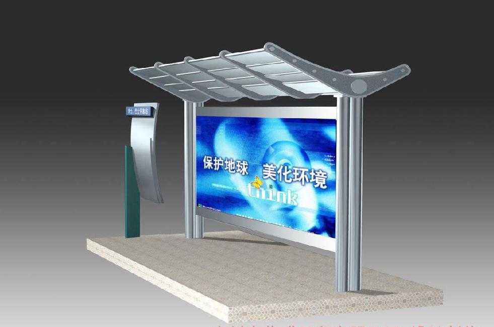 上海广告候车亭制作