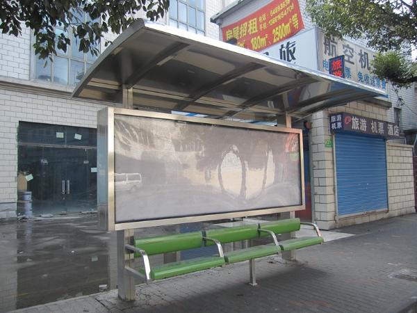 上海广告候车亭定做