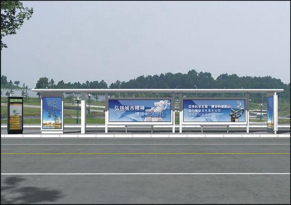 上海候车亭灯箱厂家
