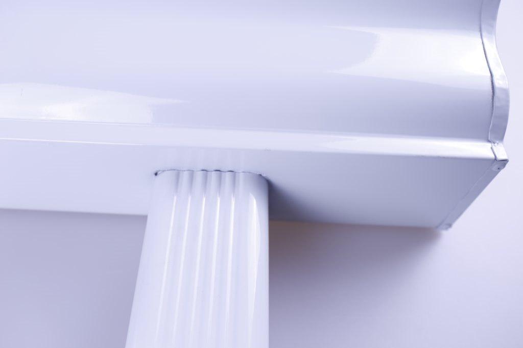 彩铝合金雨水槽多少钱