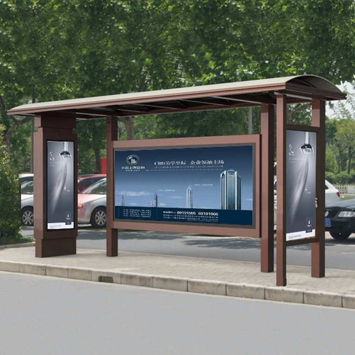 公交站台精益求精