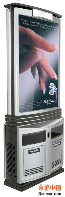 南通广告垃圾箱宣传栏款式
