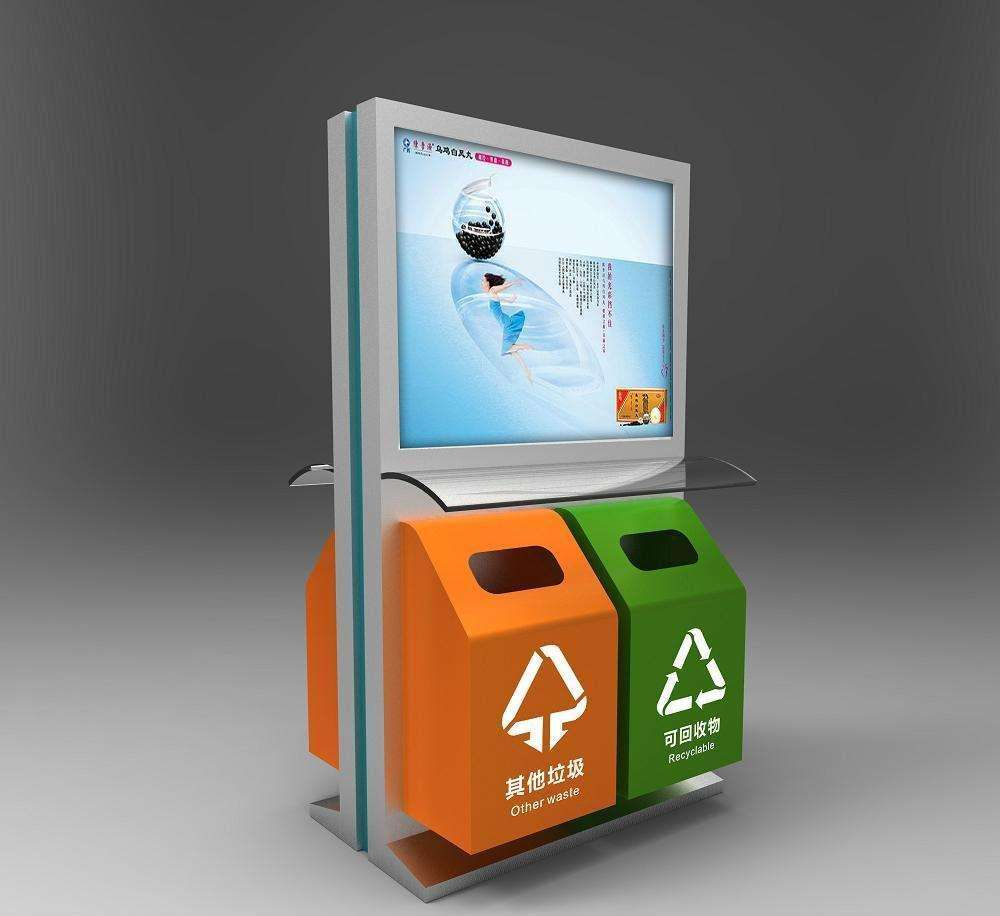 威海太阳能广告灯箱垃圾箱哪家好