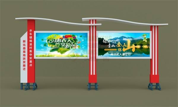 常州商场宣传栏广告灯箱生产