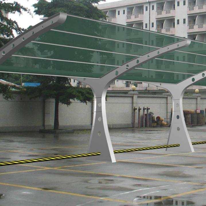 菏泽电动车雨棚自行车棚定做