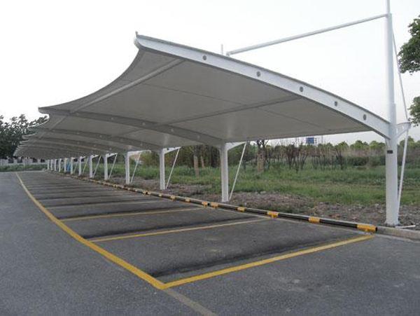滨州钢结构自行车棚不锈钢