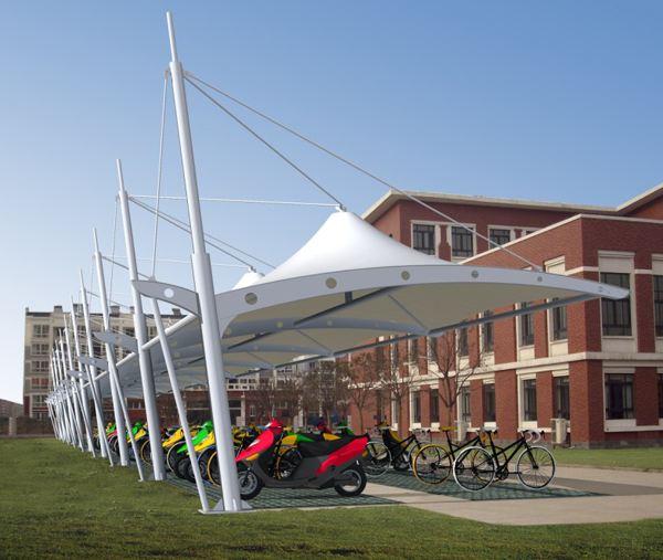 滨州钢结构自行车棚定制