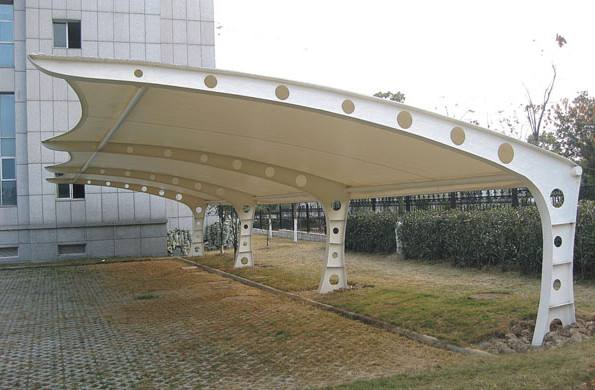 潍坊膜结构自行车棚设计