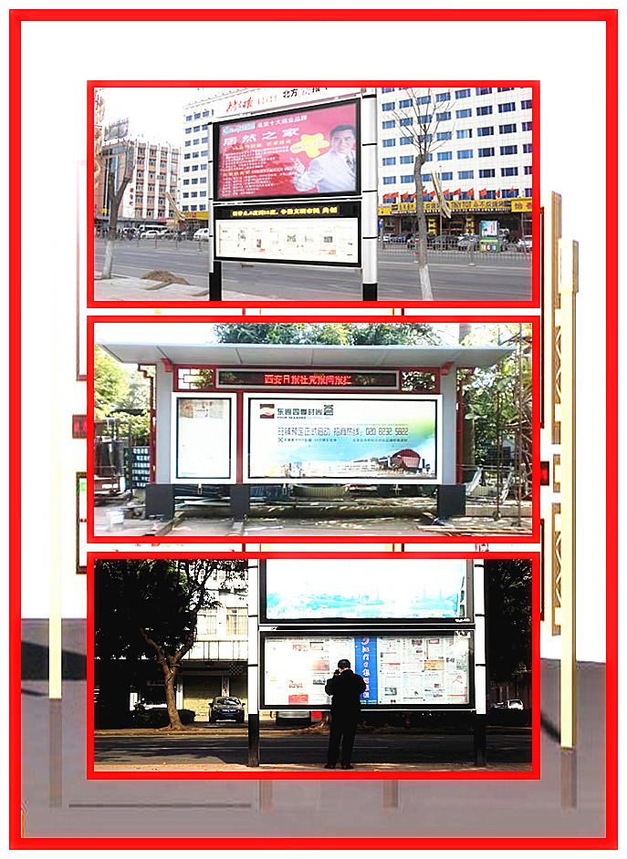 泰安太阳能宣传栏工艺