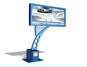 苏州第三次成功订购200台滚动灯箱已经安装完毕