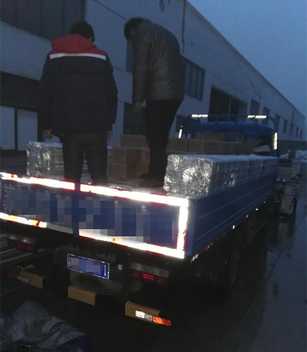 上海的沈先生订购的90套JQ75-80系统已发货