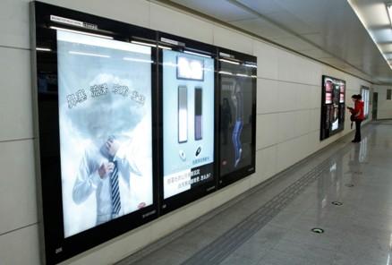地铁灯箱光源成本低