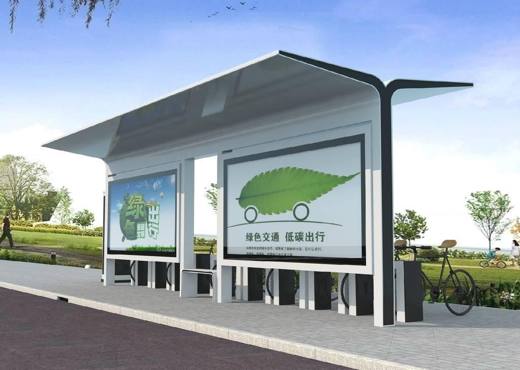 公交站台  HCT-024